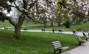 Le parc de Roubaix, ville candidate à la capitale française de la culture