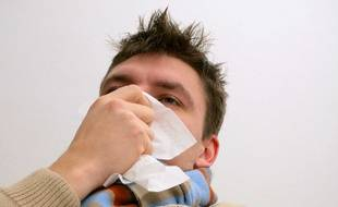 Grippe. (Illustration)