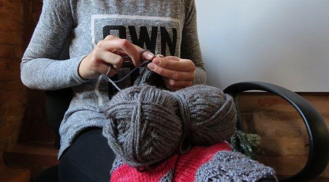 Toulouse, le 19 novembre 2014 - La mode du tricot de plus en plus en vogue chez les jeunes – Beatrice Colin