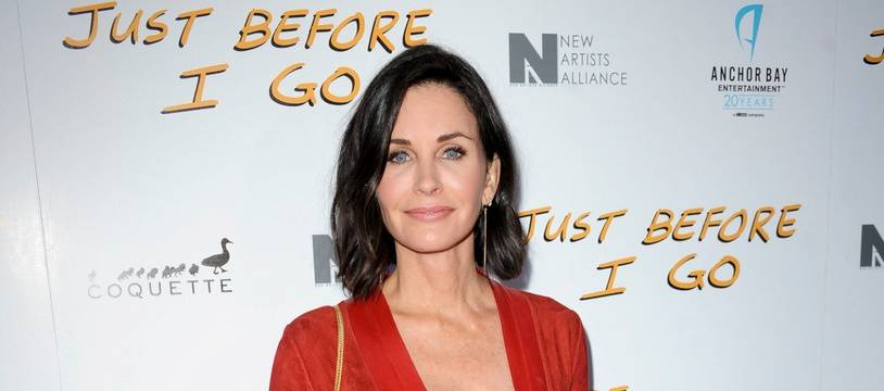 L'actrice Courteney Cox
