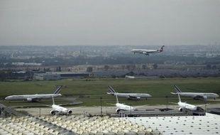 L'aéroport de Paris-Charles de Gaulle, le 17 septembre 2014 à Roissy