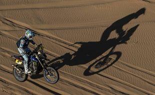 Le pilote nordiste Adrien Van Beveren sur le Dakar 2020.