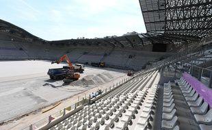 Le stade Jean-Bouin à Paris, le 10 juillet 2019.