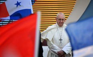 Le pape François au Panama lors de JMJ