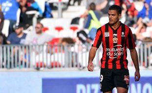 Hatem Ben Arfa lors de Nice-Lille le 1er novembre 2015.