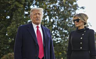 L'ancien présentateur de l'émission de télé-réalité «The Apprentice» et son épouse, Melania
