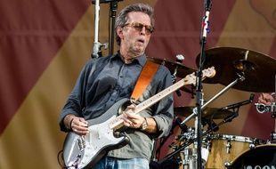 Eric Clapton, le 27 avril 2014, à La Nouvelle-Orléans.