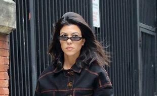La star de télé-réalité Kourtney Kardashian dans les rues de New York