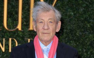 L'acteur britannique Ian McKellen