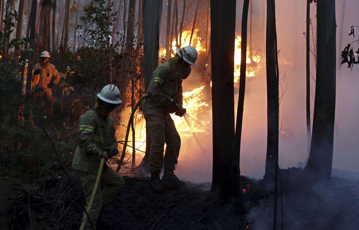Le Portugal a décrété trois jours de deuil national à partir de ce dimanche, après l'incendie de forêt le plus meurtrier de son histoire récente. – Armando Franca/AP/SIPA