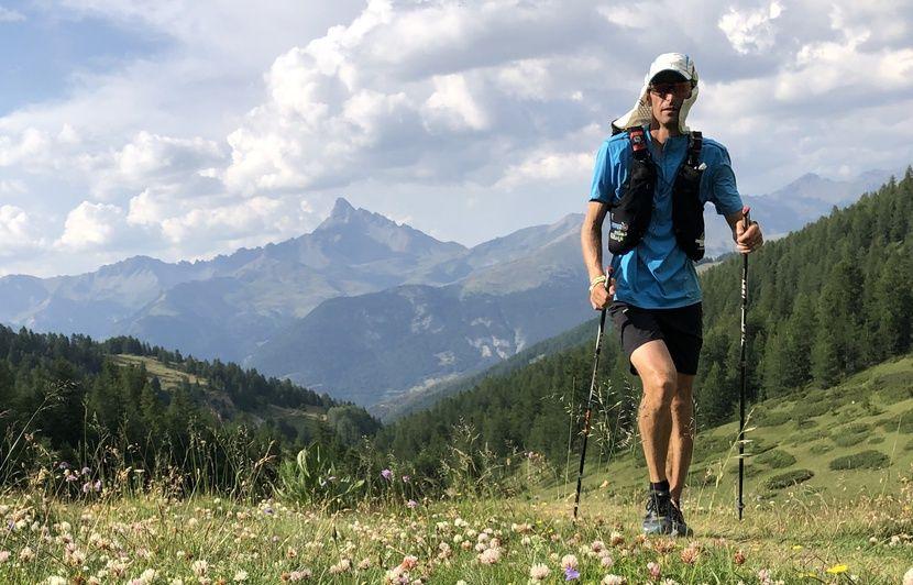 Côte d'Azur : Il bat le record de la traversée des Alpes à pied, suri le GR5 entre Thonon et Nice,