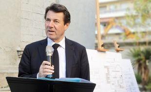 Christian Estrosi, à Nice, le 15 décembre 2015