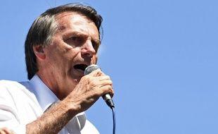 air Bolsonaro, candidat d'extrême droite à la présidentielle brésilienne