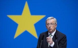 Jean-Claude Juncker, le 5 avril 2014, à Berlin