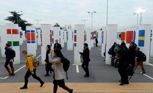 Le site de la COP21 au Bourget, le 2 décembre 2015