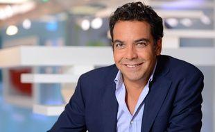 Patrick Cohen dans «C à vous» sur France 5.
