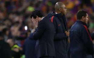 Unai Emery après l'humiliation à Barcelone