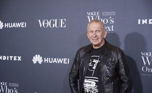 Le styliste Jean Paul Gaultier à Madrid