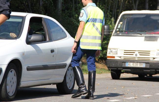 Un homme s'est présenté ivre à la gendarmerie de Rennes. Ici un contrôle en périphérie.