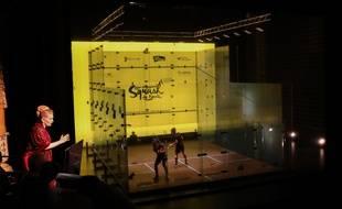 Du squash... à l'opéra.