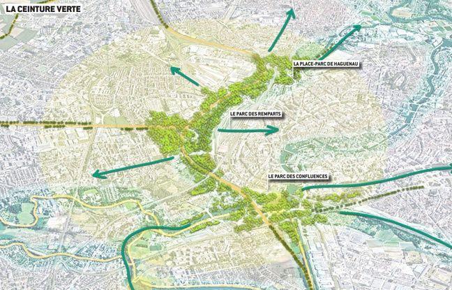 La ceinture verte, à Strasbourg