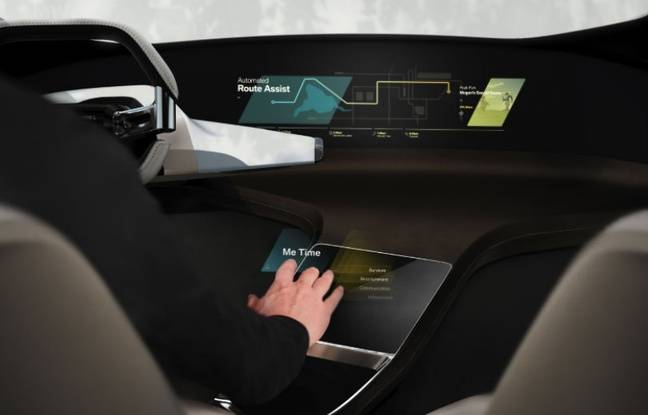 HoloActive Touch, le système de commandes holographiques signé BMW.