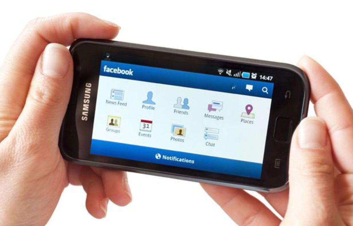 L'application Facebook pour Android.  – Alex Segre / Rex Featur/REX/SIPA