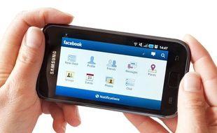 L'application Facebook pour Android.