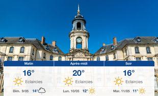 Météo Rennes: Prévisions du samedi 8 mai 2021
