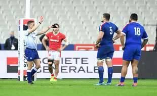 Paul Willemse a été suspendu deux semaines à la suite de son carton rouge lors de France-pays de Galles, le 19 mars 2021.