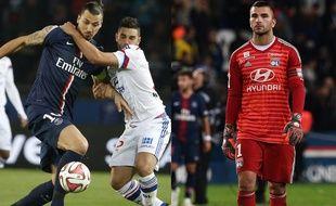 Jordan Ferri et l'OL ont bien mieux résisté au PSG de Zlatan en 2014-2015 que ne l'a fait la bande à Anthony Lopes au match aller cette saison (5-0).