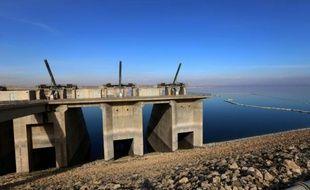 Le barrage de Mossoul, le 1er février 2016