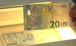 La BCE lance un nouveau billet de 20 euros plus sécurisé