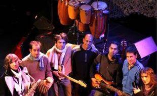 La formation de Fanga (de g. à d.) : Martial, Eric, Julien, Yves, Raj, Samuel et David.