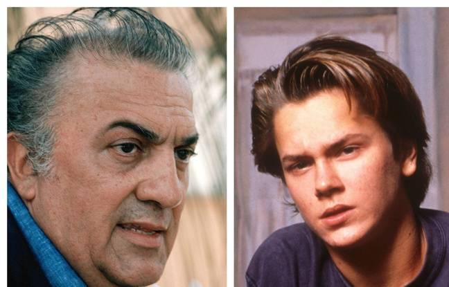 Federico Fellini et River Phoenix, tous deux décédés le 31 octobre 1993.