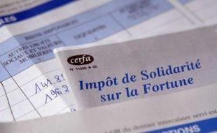 Illustration de l'Impôt de solidarité sur la fortune.
