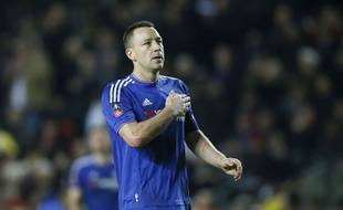 John Terry lors du match entre Chelsea et Milton Keynes le 31 janvier 2016.