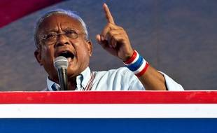Suthep Thaugsuban, le leader des manifestants anti-gouvernement