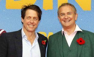 Mahé a rencontré Hugh Grant et Hugh Bonneville lors de l'avant-première de Paddigton 2.