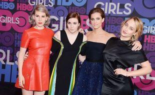 Avant-première de la saison 4 de Girls à New York le 5 janvier 2015