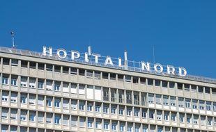 L' hôpital nord de Marseille.