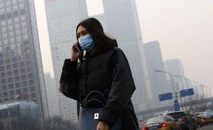Lundi 7 décembre 2015, à Pékin.