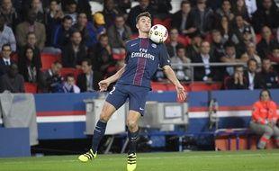 Thomas Meunier lors de PSG-Dijon, le 20 septembre 2016.
