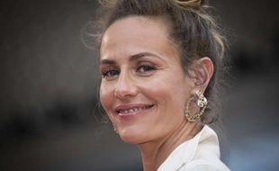 Cécile de France, actrice, au festival de Cannes le 8 mai 2018