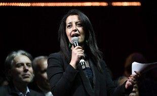 La candidate d'union de la gauche à la présidence des Hauts-de-France, Karima Delli. (archives)
