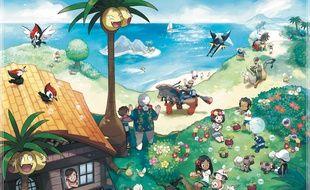 Bienvenue à Alola, nouvelle aire de jeu de ces nouveaux Pokémon Lune et Soleil.