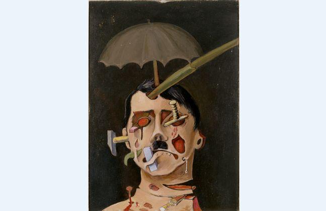 «Hitler» de Victor Brauner.