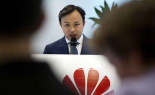 Un des représentants de Huawei
