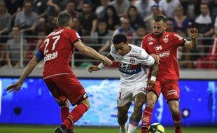 Memphis Depay a ouvert le score pour les Lyonnais