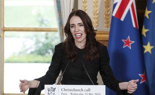 La première ministre néo-zélandaise Jacinda Ardern, le 15 mai 2019 à Paris (image d'illustration).